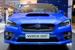 Subaru Impreza WRX STI Royalty Free Stock Images