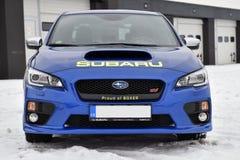 Subaru Impreza WRX STI. In Most, Czech republic, January 26, 2017 Stock Photos