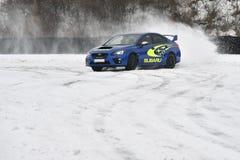 Subaru Impreza WRX STI. In Most, Czech republic, January 26, 2017 Stock Photo