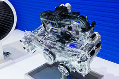 Subaru inside Car Engine Royalty Free Stock Image