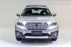 Subaru interior 2015 Imagenes de archivo