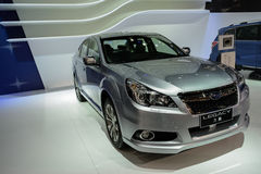 Subaru Legacy, 2014 CDMS Royalty-vrije Stock Foto