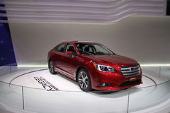 Subaru Legacy 2015. At Chicago car show 2015 royalty free stock image