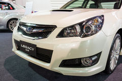 Subaru Legacy on display Stock Images