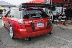 Subaru Legacy Wagon on display Stock Photography