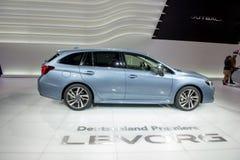 Subaru Levorg - European premiere. Stock Image