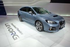Subaru Levorg - European premiere. Stock Images