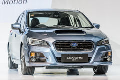 Subaru LEVORG 1 6个GT-S 图库摄影