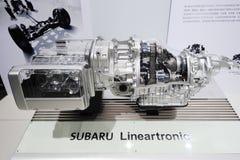 Subaru lineartronic cvt royalty free stock photo