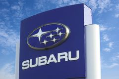 Subaru logo Obraz Royalty Free