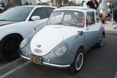 Subaru 360 na exposição Fotos de Stock Royalty Free
