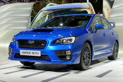 Subaru na Genebra 2014 Motorshow Fotografia de Stock