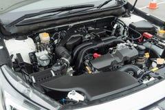 Subaru odludzia 2018 silnik zdjęcie royalty free