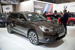 2017 Subaru odludzie Fotografia Royalty Free