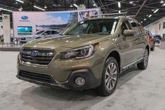 Subaru odludzie 3 6R na pokazie Obraz Royalty Free