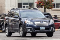 Subaru odludzie SUV Zdjęcie Royalty Free