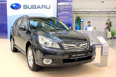 Subaru Outback Royalty Free Stock Images