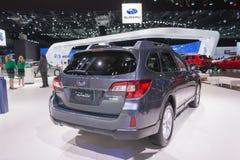 Subaru Outback 2.5i Limited PZEV Wagon Stock Photos