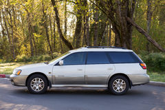 Subaru Outback L.L. Bean Special Edition royalty free stock image