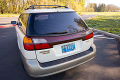 Subaru Outback L.L. Bean Special Edition Royalty Free Stock Photography