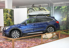 Subaru przy Belgrade car show Zdjęcia Royalty Free