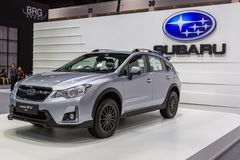 Subaru przy Tajlandia zawody międzynarodowi silnika expo 2016 Obrazy Royalty Free