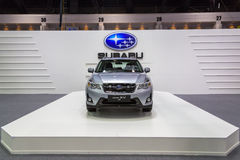 Subaru przy Tajlandia zawody międzynarodowi silnika expo 2016 Zdjęcia Stock
