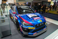 Subaru rally racing car Stock Photo