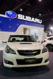 Subaru spadek na pokazie Obraz Royalty Free