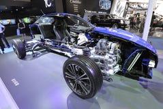 Subaru sport car  structure Stock Photography