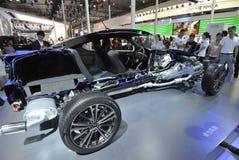Subaru sport car  structure Stock Photos
