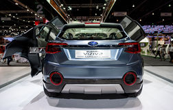Subaru VIZIV2概念汽车 免版税库存照片
