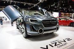 Subaru VIZIV2概念汽车 库存图片