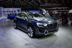 Subaru Viziv2 Genf 2014 Lizenzfreie Stockfotografie