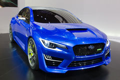 Subaru WRX obrazy royalty free