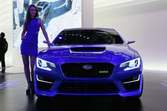 Subaru WRX Concept Stock Photo