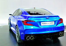 Subaru WRX Concept on IAA 2013 Stock Image