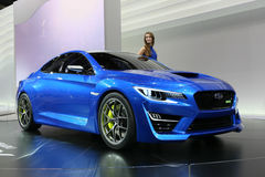 Subaru WRX Concept shown at the Stock Image