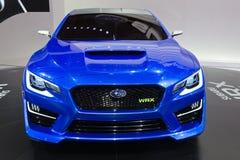 Subaru WRX. FRANKFURT, GERMANY - SEP 13: Subaru WRX concept car at the IAA motor show Stock Photography