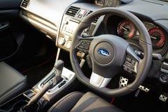 Subaru WRX 2014 Interior Stock Image