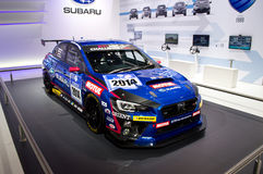 Subaru WRX Race Car Geneva 2014 Stock Images