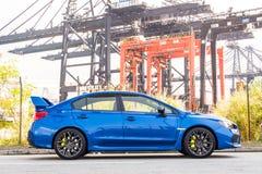 Subaru WRX STI 2017 Test Drive Day Royalty Free Stock Photo