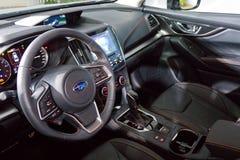 Subaru XV het binnenland van 2017 Stock Fotografie