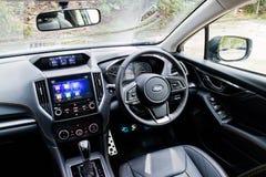 Subaru XV het binnenland van 2017 Royalty-vrije Stock Foto's
