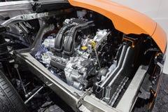 Subaru XV przekrój poprzeczny obraz royalty free