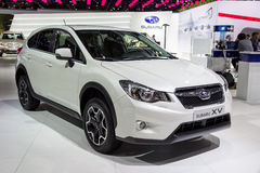 Subaru XV samochód zdjęcia royalty free