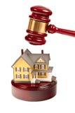 Subasta de las propiedades inmobiliarias Imágenes de archivo libres de regalías