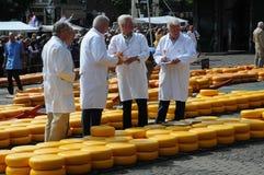 Subasta del queso fotografía de archivo