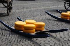 Subasta del queso Fotos de archivo libres de regalías