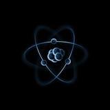 subatomic partikel vektor illustrationer